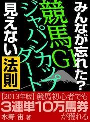 「みんなが忘れた?秋の競馬G1勝ち馬! 穴馬!見えない法則」Vol.19ジャパンカップダート2013