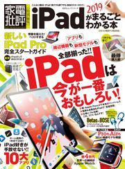 100%ムックシリーズ iPadがまるごとわかる本2019