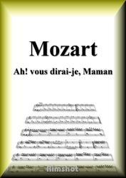 モーツァルト キラキラ星変奏曲 K.265 ピアノ・ソロ