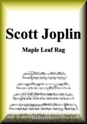ジョプリン メープル・リーフ・ラグ ピアノ・ソロ