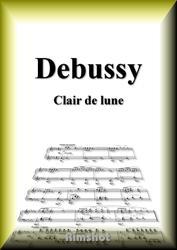 ドビュッシー 月の光 ピアノ・ソロ