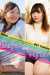 """Before And After #01 """"Yukina"""""""