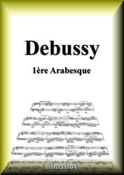 ドビュッシー アラベスク第1番 ピアノ・ソロ