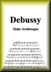 ドビュッシー アラベスク第2番 ピアノ・ソロ