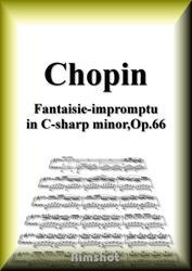 ショパン 幻想即興曲 Op.66 ピアノ・ソロ