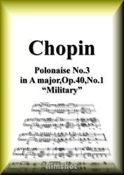 ショパン 軍隊のポロネーズ Op.40 No.1 ピアノ・ソロ