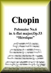 ショパン 英雄 Op.53 ピアノ・ソロ