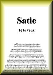 サティ ジュ・トゥ・ヴー ピアノ・ソロ