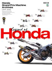 HONDA GRAND PRIX MACHINE ARCHIVES [1979-2010] (2016/06/13)