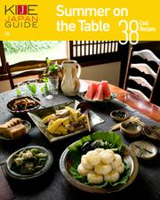 KIJE JAPAN GUIDE (vol.5 Summer on the Table―38 Cool Recipes)