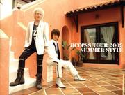 access『access TOUR 2009 SUMMER STYLE』オフィシャル・ツアーパンフレット【デジタル版】