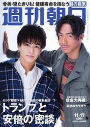 週刊朝日 (11/17号)