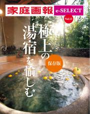 家庭画報 e-SELECT (Vol.13 極上の「湯宿」を愉しむ [保存版])