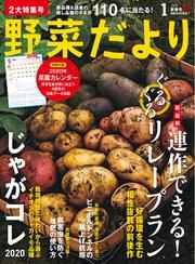野菜だより (2020年1月号)