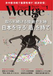 WEDGE(ウェッジ) (2021年1月号)